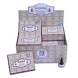 Räucherkegel Goloka Chandan Dhoop Cones 12 Schachteln 120 Kegel mit