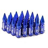 ningxiao586 20 Piezas PCS/Pack Tuercas de Rueda Tuercas de Rueda Accesorios de modificación de automóviles Partes, 4.72 * 0.49in / 4.72 * 0.59in