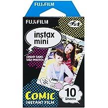 Fujifilm Instax Mini Monopack de 10 Films pour développement instantané Comic