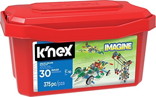 K'NEX Imagine Deluxe Building Set for Ages 7+, Construction Education Toy, 375 Pieces