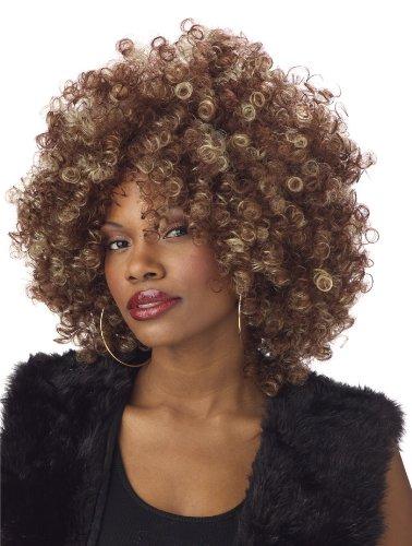 Générique pe866–Perücke Afro blond/braun 155Gramm–Einheitsgröße