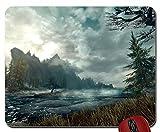 Natur Wolken Landschaften Natur Scenic wolkenformationen The Elder Scrolls Skyrim Mauspad (25,9x 21,1x 0,3cm)