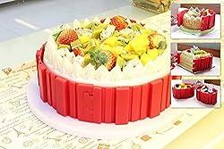 ABOGALE Bake Snake Silicone Cake Mold DIY Modeling Baking Cake Muffin Mold Tools (4 pcs)