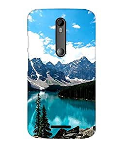 MOTO X3 Printed Cover By instyler