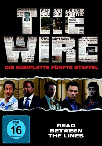 The Wire - Die komplette fünfte Staffel [4 DVDs] -