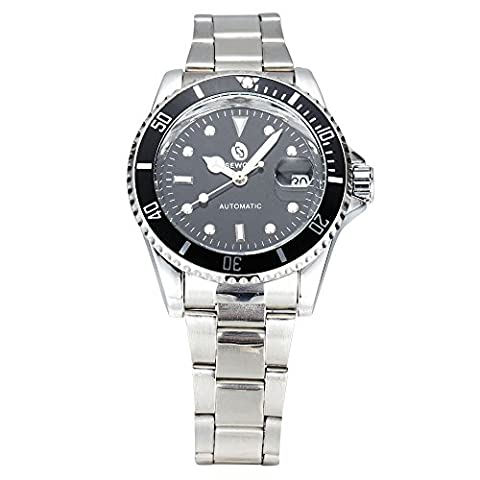 Man, mechanical watch, automatic, casual, fashion, metal,