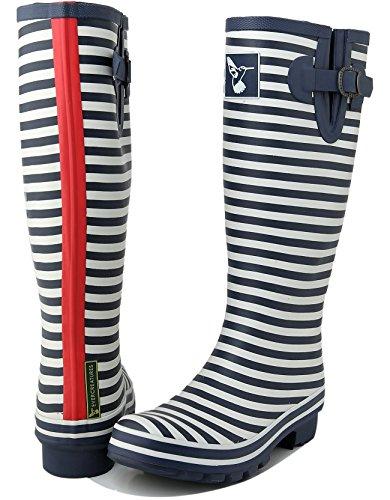 Evercreatures - Bristol, Stivali di gomma Donna Marine Navy