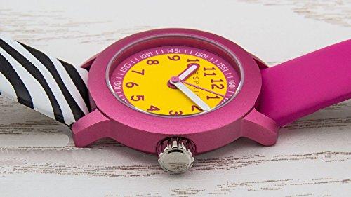 Esprit Mädchen Armbanduhr Datum klassisch Quarz Leder ES106414031 - 3