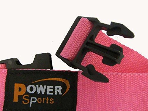 PINK 3-D Knöchel/Fuß Schuh-gurt 3 -Ring Kabel Fitnessstudio Maschinen Befestigung Für Damen Yoga, Pilates