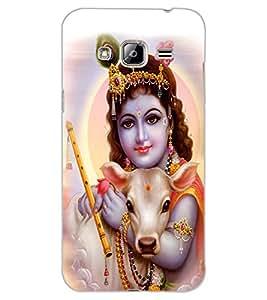 ColourCraft Lord Bal Gopal Design Back Case Cover for SAMSUNG GALAXY J3 (2016)