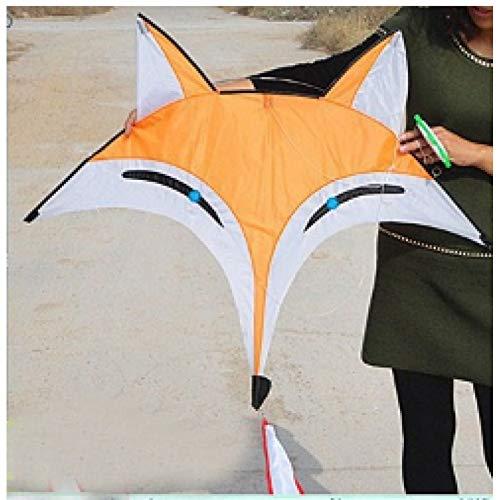 ZSYF Cometa Kite Encantadora Cometa Zorro con Cometa Línea Pájaro Cometa Cometa China Dragón Volador