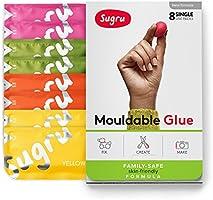 Sugru, pâte modelable fixante - Formule pour toute la famille - Couleurs vives (pack de 8)