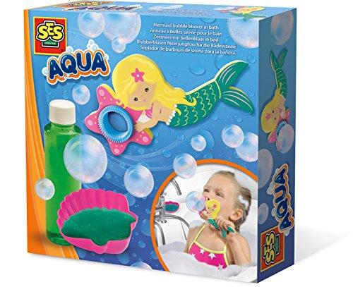 SES Creative 13021 Aqua Blubberblasen Meerjungfrau für die Badewanne