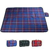 Babyicon 200x 150cm Outdoor plaid coperta da picnic tappetino pieghevole impermeabile.