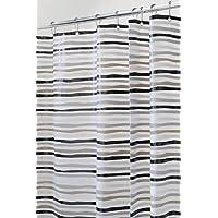 mDesign Stripes Tenda Doccia Senza PVC, in