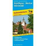 Kraichgau - Neckar - Odenwald: Radwanderkarte mit Ausflugszielen, Einkehr- & Freizeittipps, wetterfest, reissfest, abwischbar, GPS-genau. 1:100000