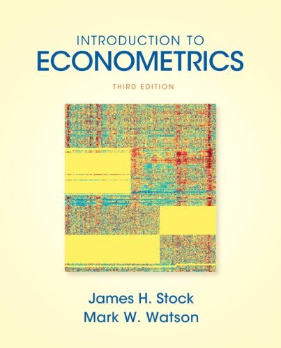 Introduction to Econometrics (3rd (third) Edition) (Addison-Wesley Series in Economics)