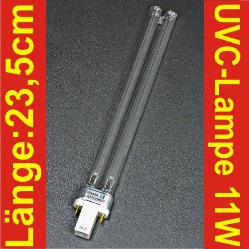UVC Wasserklärer Ersatzlampe 11W (Kurzwelliges Uv-licht)