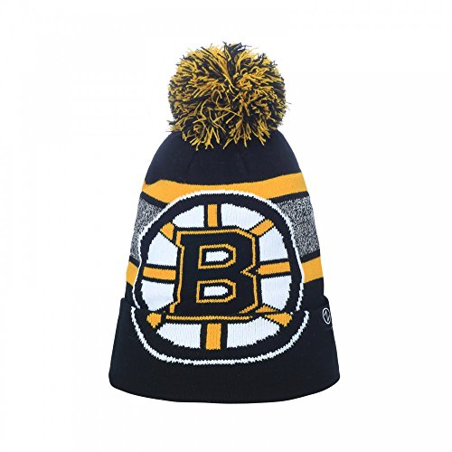 Zephyr NHL BOSTON BRUINS Mammoth Bobble Knit (Wintermütze)