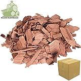 Wood Chips Kirsche Cherry Wood 1,5 kg- 7 Liter Räucherchips für Grill und Smoker BBQ -