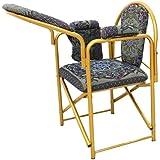 كرسي الصلاة قابل للطي لون ازرق