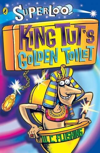 King Tut's golden toilet