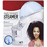 CLAROL 2 IN 1 HERBAL STEAMER HOT PRESSURE FACIAL AND HEAD STEAMER Salon SPA Home Beauty