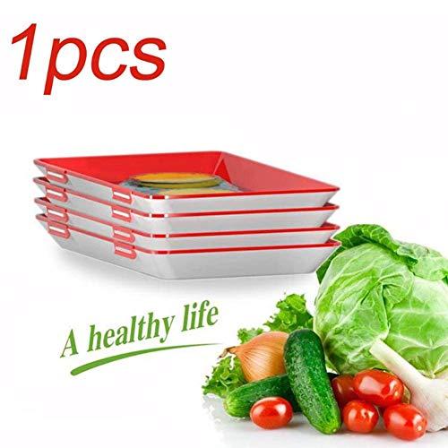 Lebensmittelkonservierungsschale, Aufbewahrungsschale, Frischhaltevakuumschale, Flexible Wiederverwendbare Folie, Geeignet Für Kühlschränke, Kleine Kühlschränke