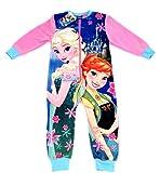 A/W 2015 - Girls Disney FROZEN FEVER FLEECE onesie /sleepsuit / all-in-one / pyjamas - Ages 2/3, 4/5, 5/6, 7/8yrs