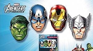 Los Vengadores 6 caretas superheroes, bolsa (Verbetena 014300065)