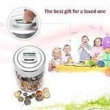 FairytaleMM Display LCD Smart elettronico digitale conteggio moneta Banca Salvaspazio regalo