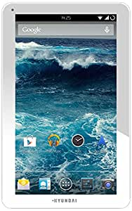 """Hyundai AT10-W AT10-W Tablette tactile 10"""" (25,40 cm) ARM RK3026 1 GHz 8 Go Android Jelly Bean 4.2.1 Wi-Fi BLANC"""