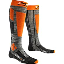 X-Socks Hombre skistrumpf Rider 2.0, Grey, hombre, X-SOCKS SKI RIDER 2.0, Grey Melange/Orange