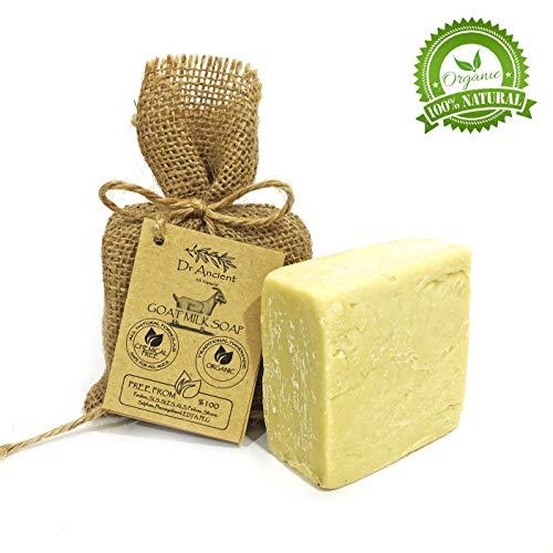 Organische natürliche traditionelle handgemachte antike Ziegenmilch Seife - Anti Aging Skin Lightener, Feuchtigkeitscreme - Keine Chemikalien, reine Naturseifen! -