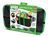 VelKro Pop Bag: Eco-Friendly, Collapsible, Reusable Shopping/Storage Bag - Holds Up To 40 Lbs