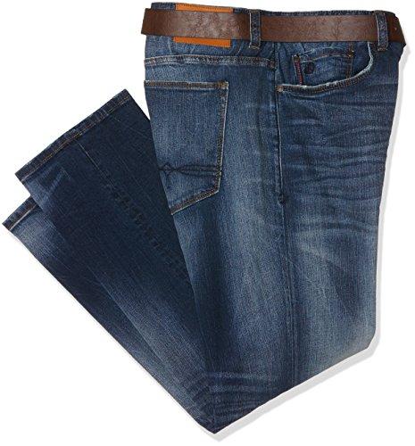 s.Oliver Big Size Herren Slim (Schmales Bein) 15.610.71.3831, Blau (Blue 55z4), W44/L32