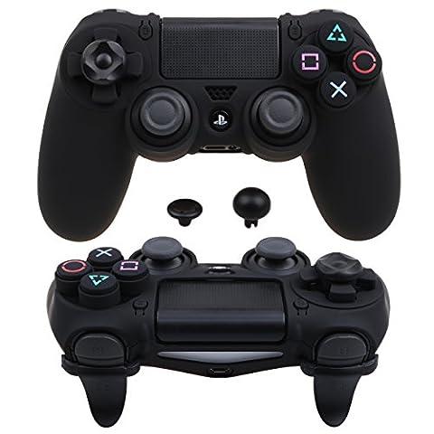 Pandaren® Ultra Armure Engrenage FPS Housse Custom pour le Manette PS4 (noir)