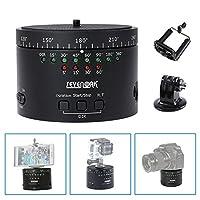 aperçu SK-EBH01 est un spécialement conçu poids léger et portable électronique panorama rotule pour une utilisation avec téléphone intelligent, Gopro caméras, et poids léger caméra autour de 1.5 KG. SK-EBH01 est un facile à utiliser time lapse dispo...