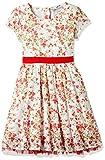 #9: Cherokee Girls' A-Line Cotton Midi Dress