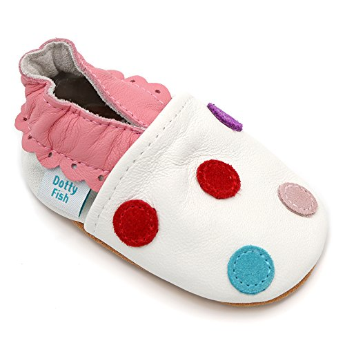 dotty-fish-chaussures-cuir-souple-bebe-et-bambin-filles-blanc-a-pois-multicolore-taille-18