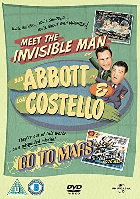 Abbott And Costello: Meet The Invisible Man/Go To Mars [DVD] by Bud Abbott