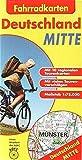 Fahrradkarten Deutschland Mitte: 1:75.000
