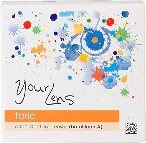 YourLens toric, torische Monatslinsen weich, 6 Stück/BC 8.9 mm/DIA 14.5