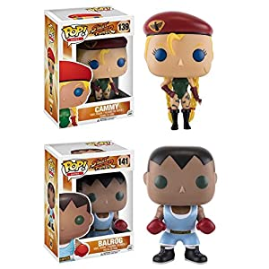 Funko Pop Pack Cammy + Balrog (Street Fighter) Funko Pop Street Fighter