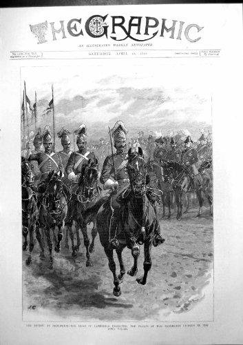 Zusammenfassung Aldershot-Herzog Cambridge, das Truppen-Langes Tal 1892 Überprüft