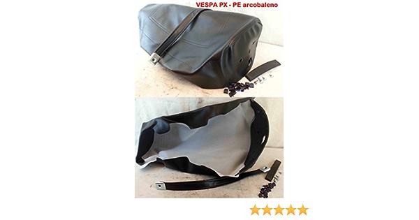 Scheide Einband Für Sattel Vespa 125 Px Pe Regenbogen 125 150 200 Farbe Schwarz Auto