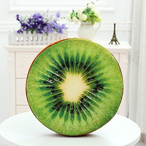 Zantec 3D Fruit Plüsch Kissen Kissen Home Office Sofa Dekoration Sitz Stuhl Pads Floor Mat (Ersatz-stuhl-teile)
