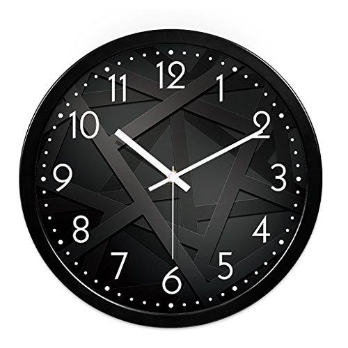 Horloge Murale Salon Creative Horloge Moderne Quartz Montre Suspendue Chambre Mute Personnalité Grande Horloge Murale (Couleur : # 3, taille : 35cm)