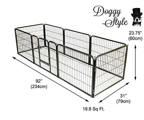 Doggy-Style-Heavy-Duty-Puppy-Play-Pen-playpen-8-x-panel-whelping-pen-pens-x-4-sizes