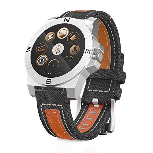 PNCS Fitness Armband Outdoor-Sportarten Light Sensing Herzfrequenz-Schlafüberwachungsschritte Hand hebt Hellen Bildschirm an, der für Reisen im Freien geeignet ist,Silver
